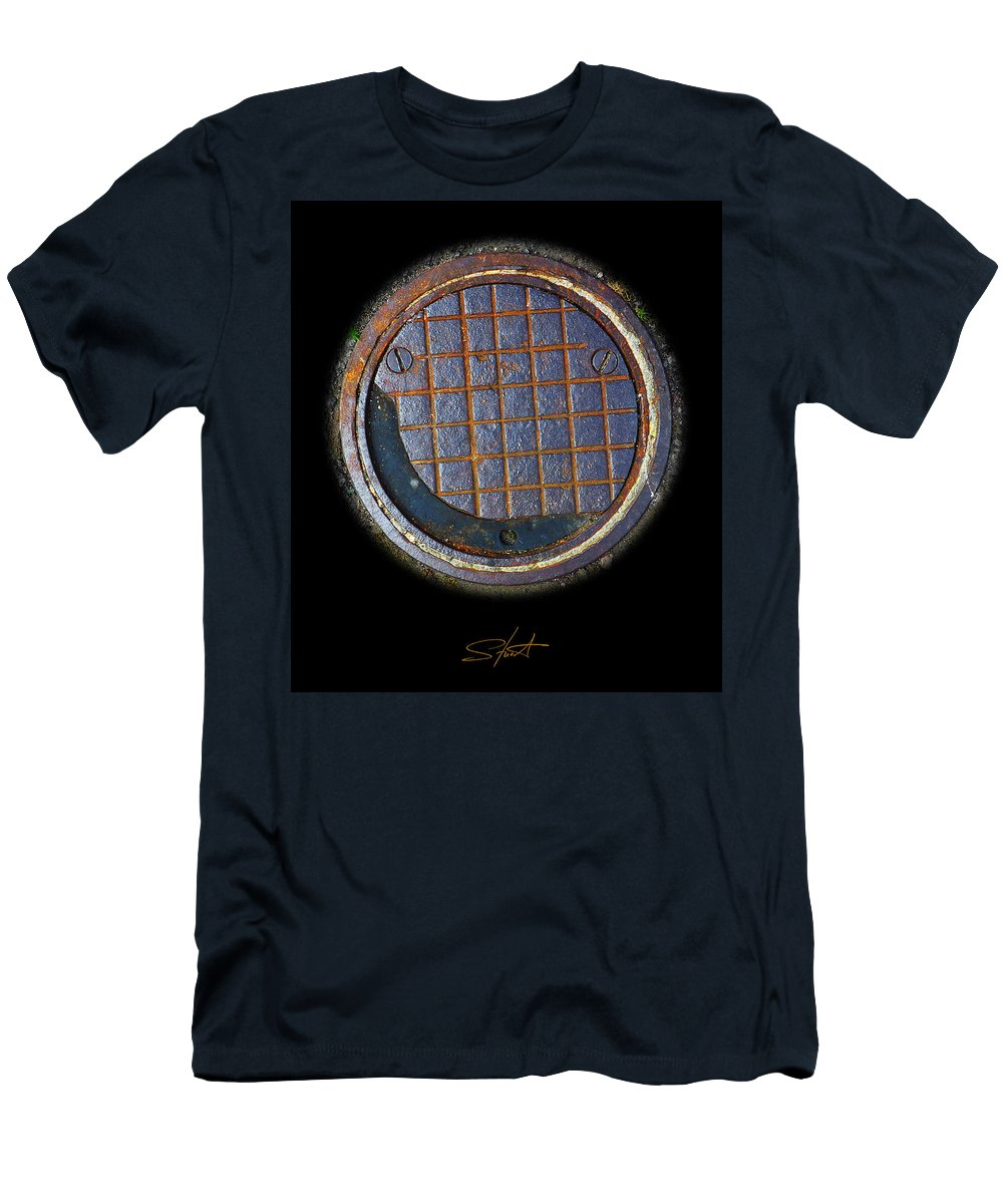 Smiley Men's T-Shirt (Athletic Fit) featuring the photograph Smiley Face by Charles Stuart