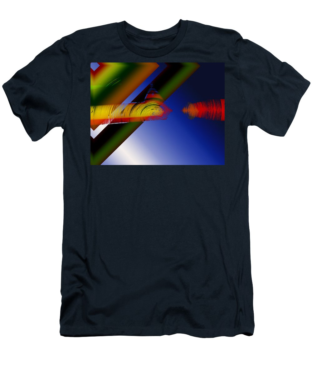 Photograph Men's T-Shirt (Athletic Fit) featuring the photograph Spectrum Of Roses by Mindy Newman