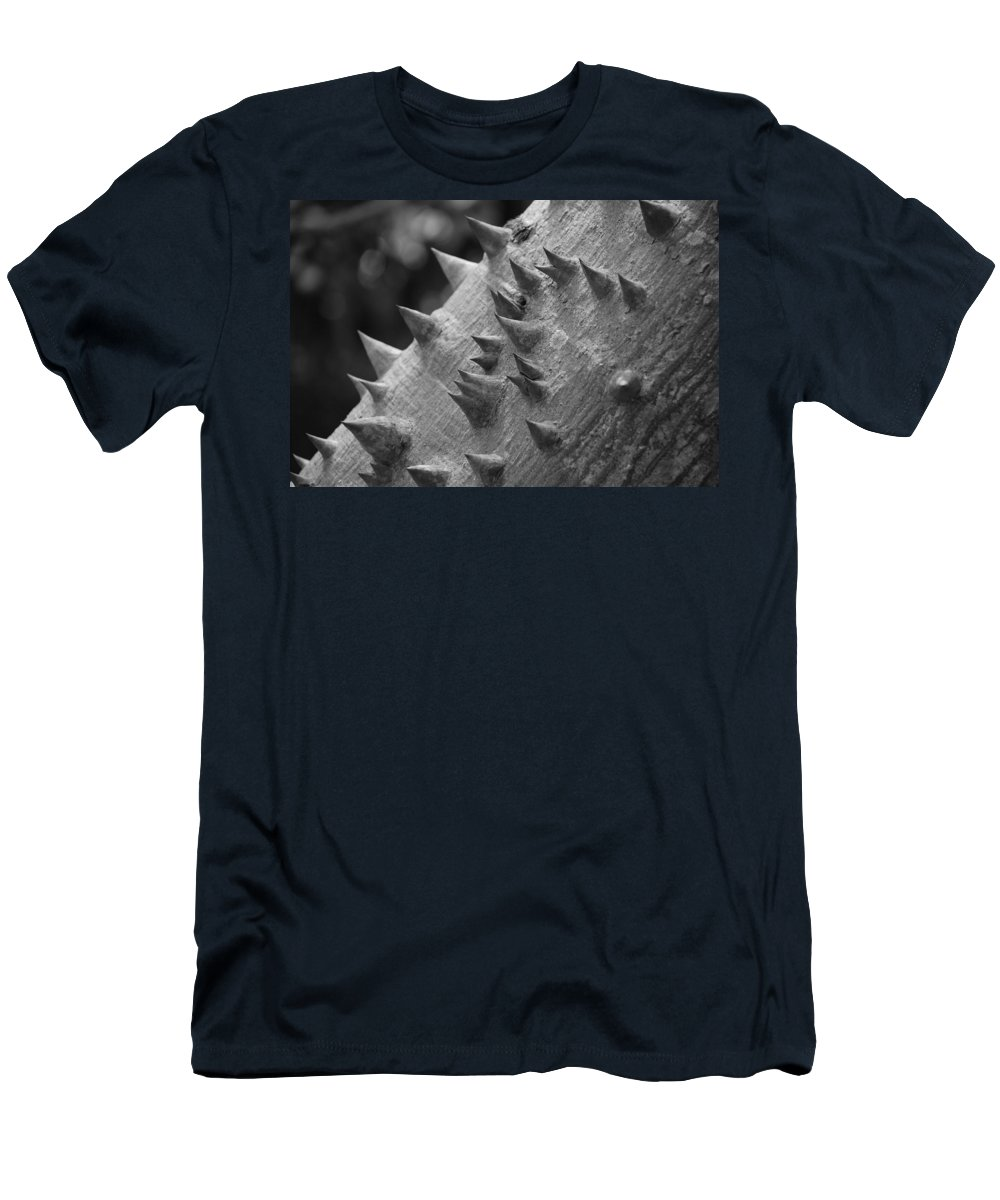 Spike Men's T-Shirt (Athletic Fit) featuring the photograph Spikey Thorny Tree by Rob Hans