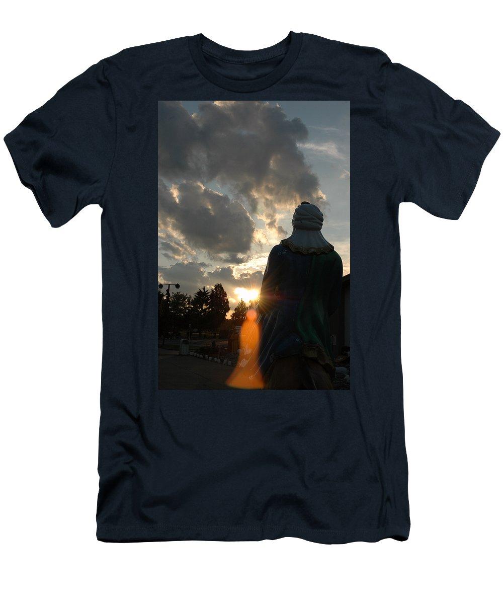 Christ Men's T-Shirt (Athletic Fit) featuring the photograph Spirit Of Christ by LeeAnn McLaneGoetz McLaneGoetzStudioLLCcom