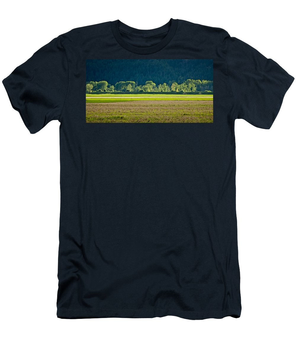 Spring Men's T-Shirt (Athletic Fit) featuring the photograph Spring Greens by Albert Seger