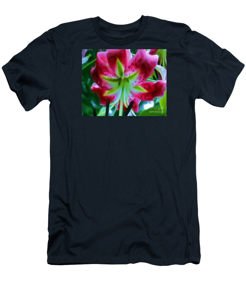 Fine Art Photography Men's T-Shirt (Athletic Fit) featuring the photograph Stargazer by Patricia Griffin Brett