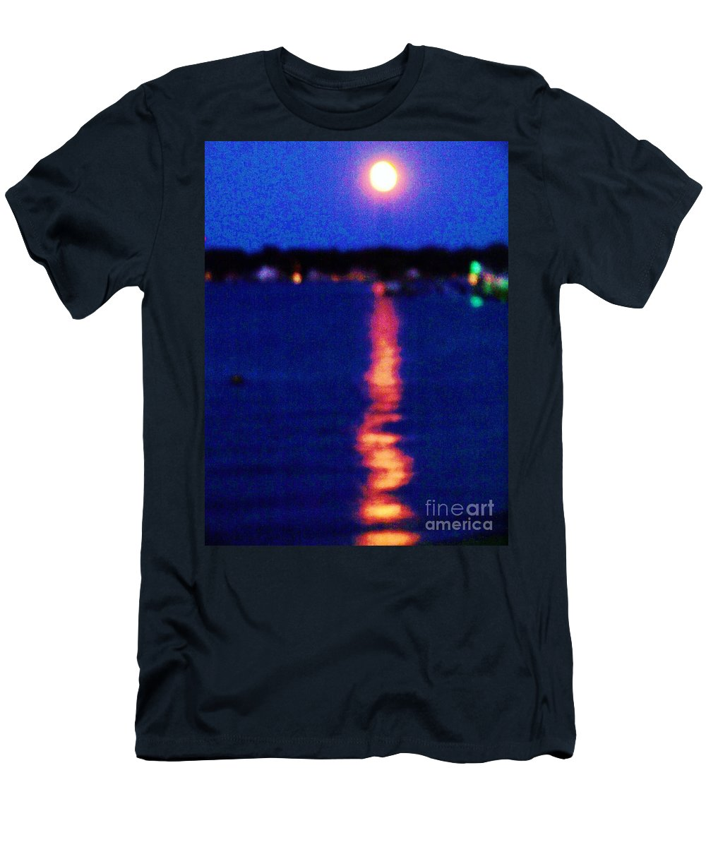 Sunset Men's T-Shirt (Athletic Fit) featuring the photograph Sunset by Eric Schiabor