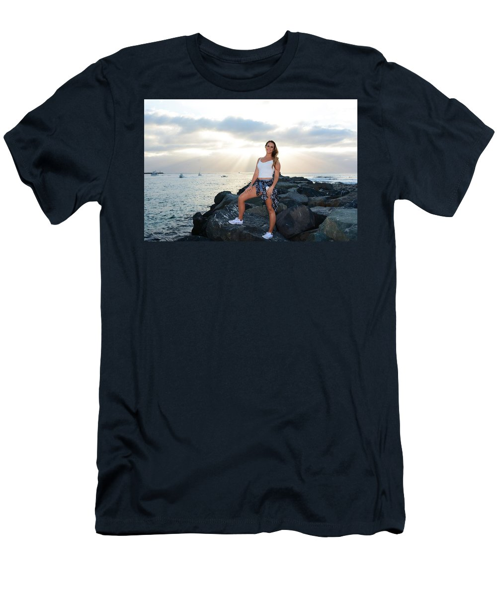 Fashion Men's T-Shirt (Athletic Fit) featuring the photograph Taylor 034 by Remegio Dalisay