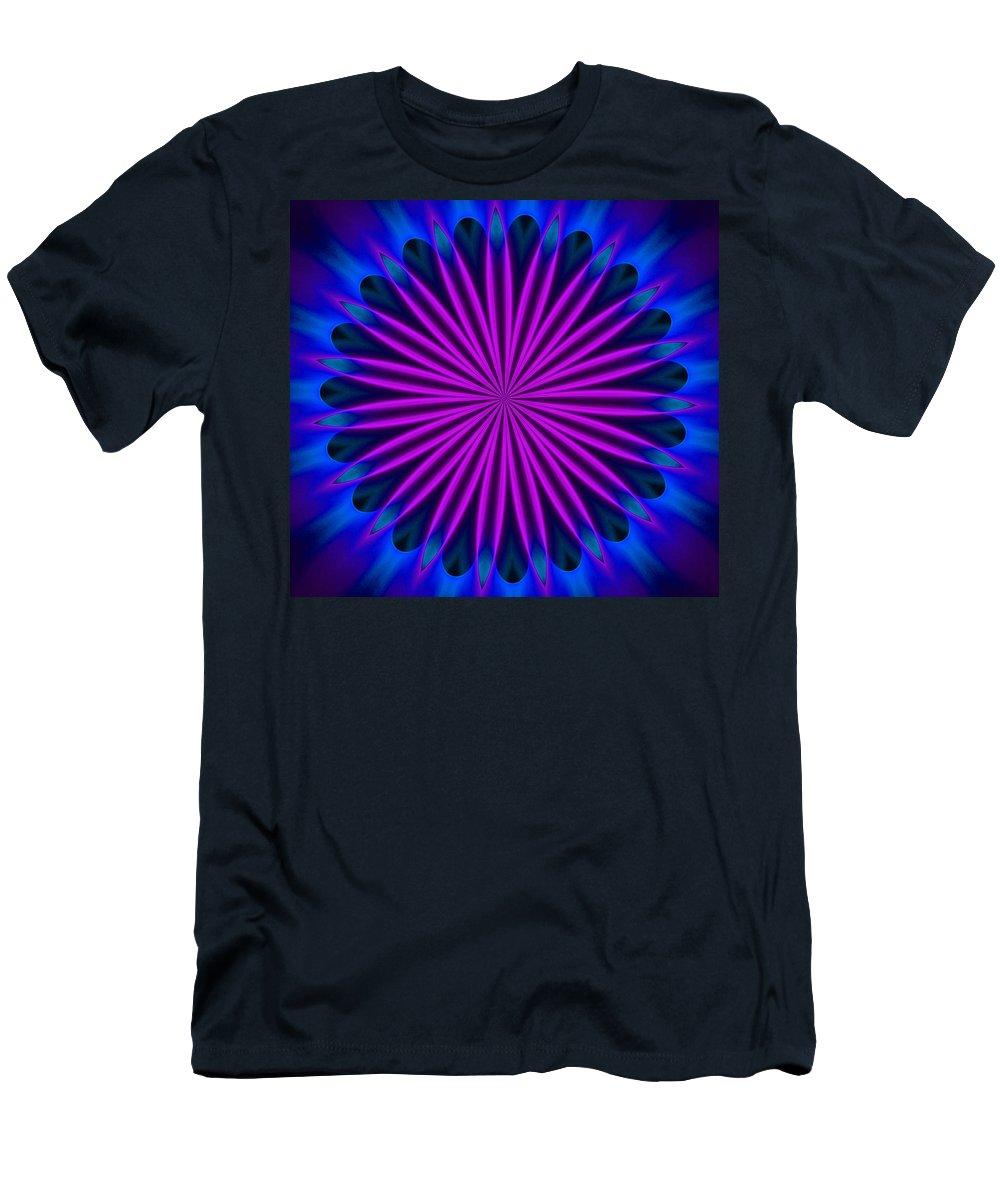 Fine Art Men's T-Shirt (Athletic Fit) featuring the digital art Ten Minute Art 102610a by David Lane
