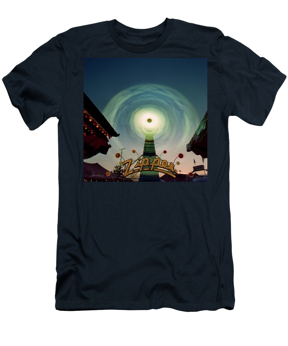 Photography Men's T-Shirt (Athletic Fit) featuring the photograph The Zipper by Frederic A Reinecke
