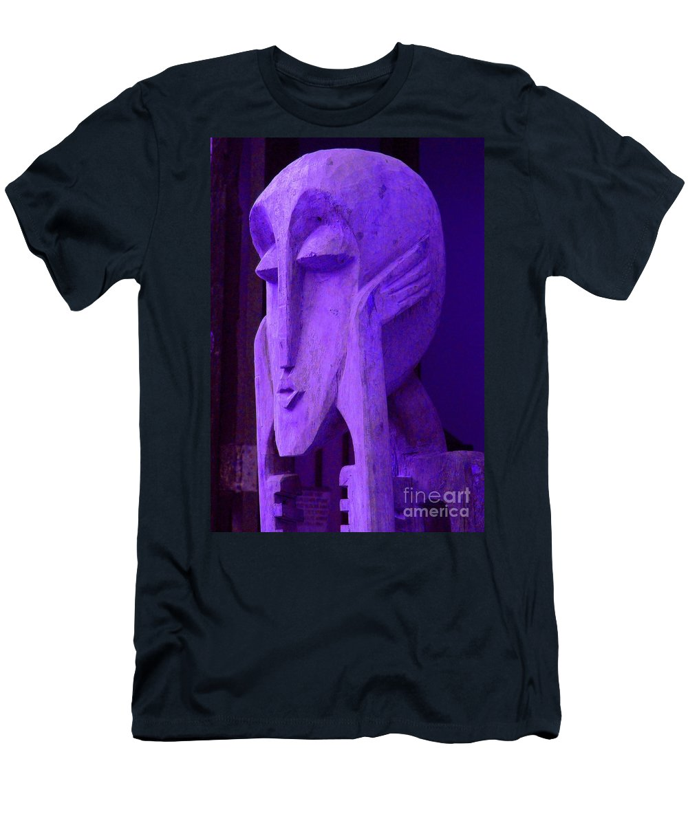 Head Men's T-Shirt (Athletic Fit) featuring the photograph Think About It by Debbi Granruth