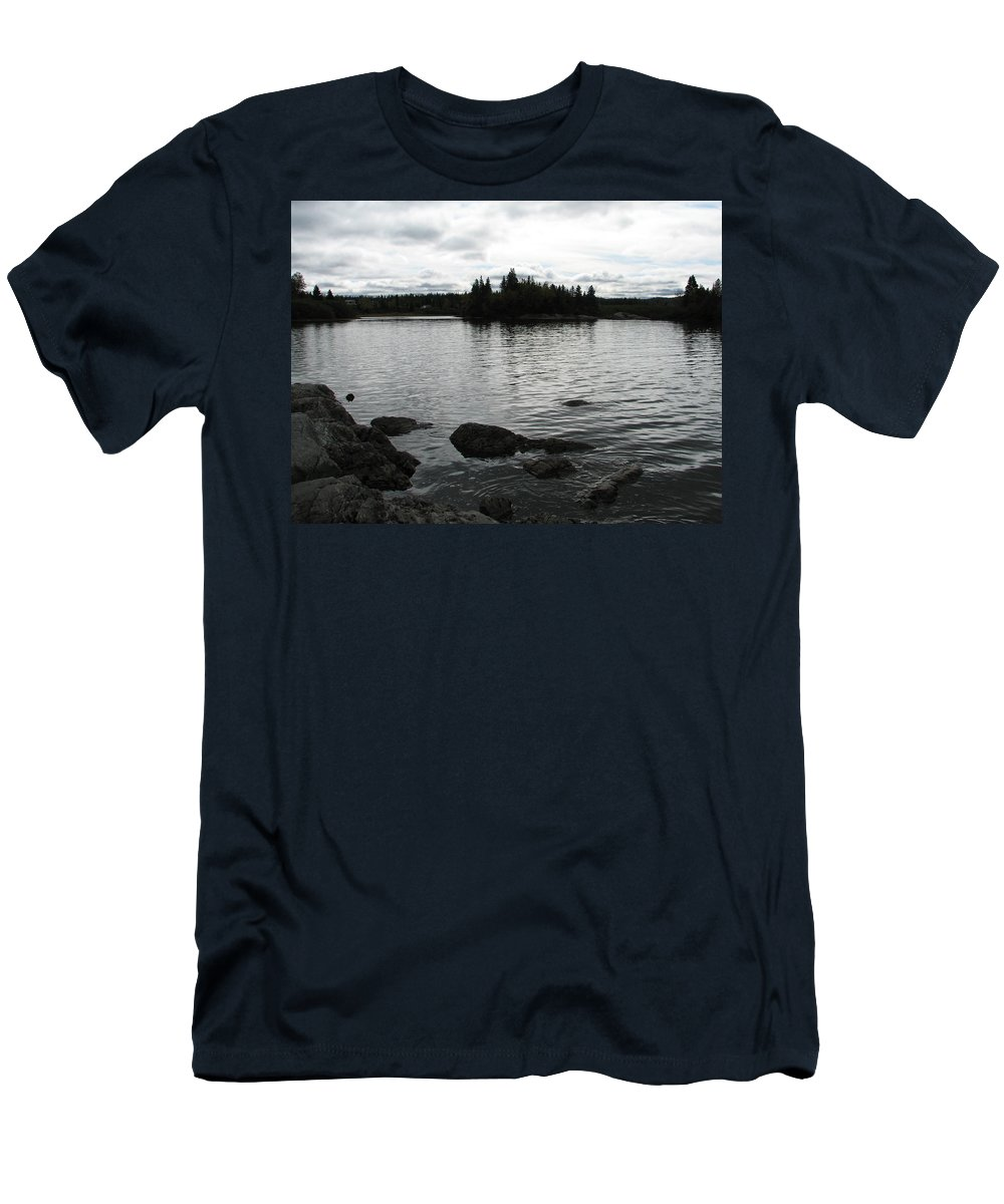 Water Men's T-Shirt (Athletic Fit) featuring the photograph Tranquility by Kelly Mezzapelle