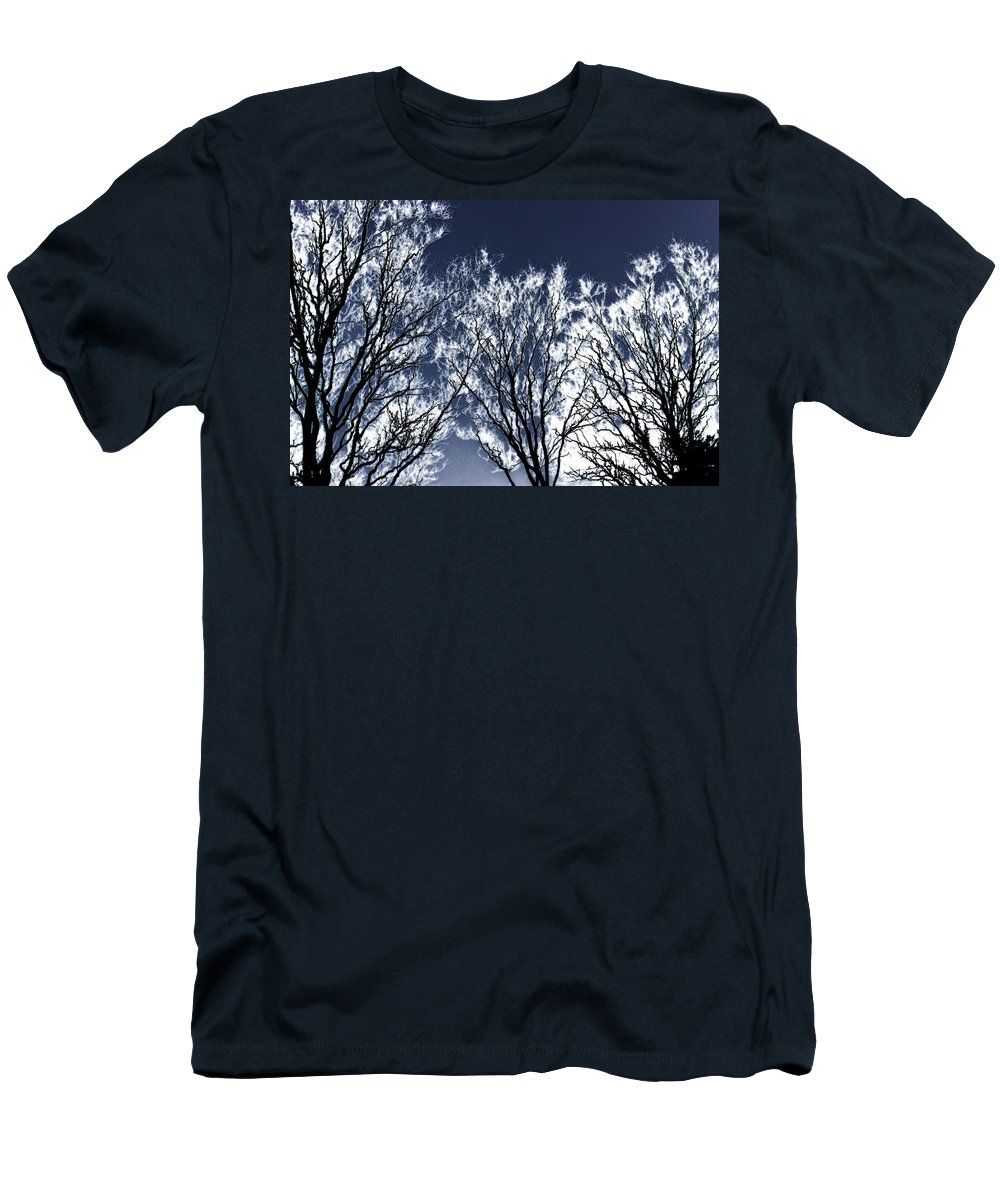Scenic Men's T-Shirt (Athletic Fit) featuring the photograph Tree Fantasy 2 by Lee Santa