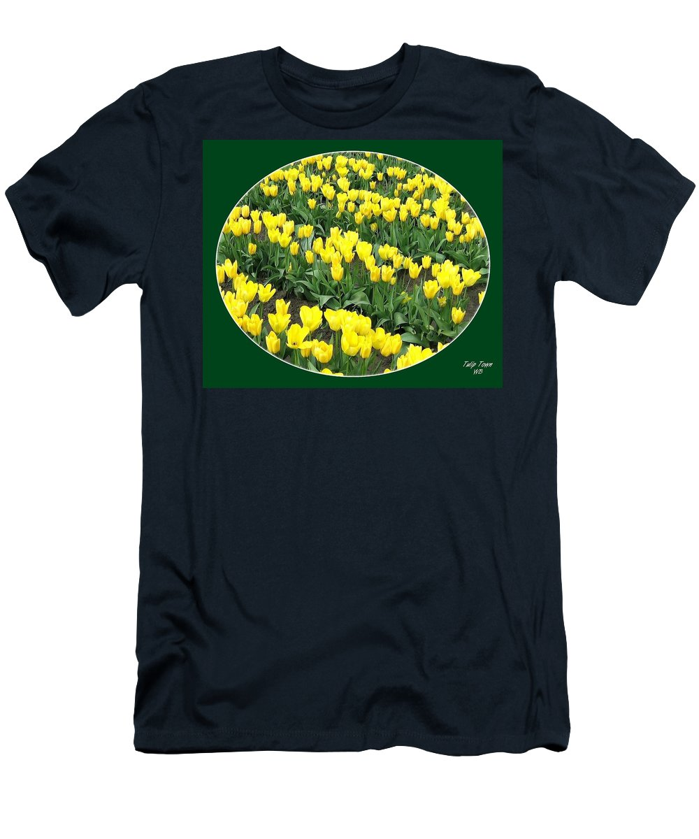 Agriculture Men's T-Shirt (Athletic Fit) featuring the photograph Tulip Town 2 by Will Borden