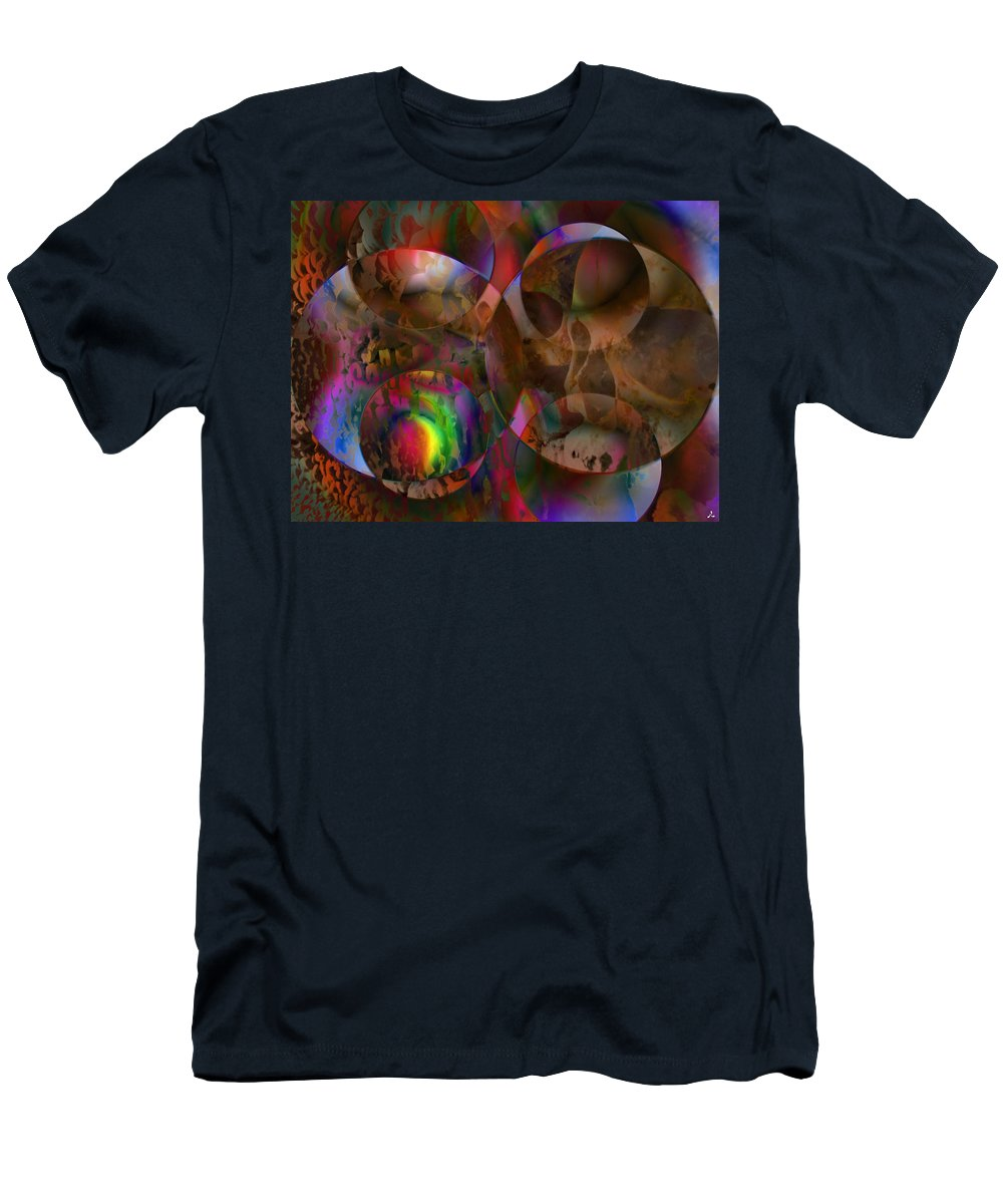 Colors T-Shirt featuring the digital art Vision 24 by Jacques Raffin