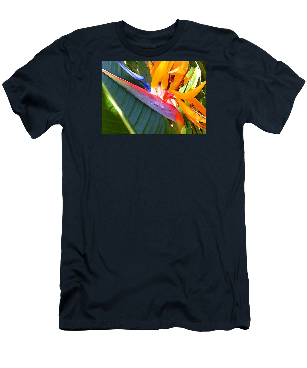 Hawaii Greeting Cards T-Shirt featuring the photograph Bird of Paradise by James Temple