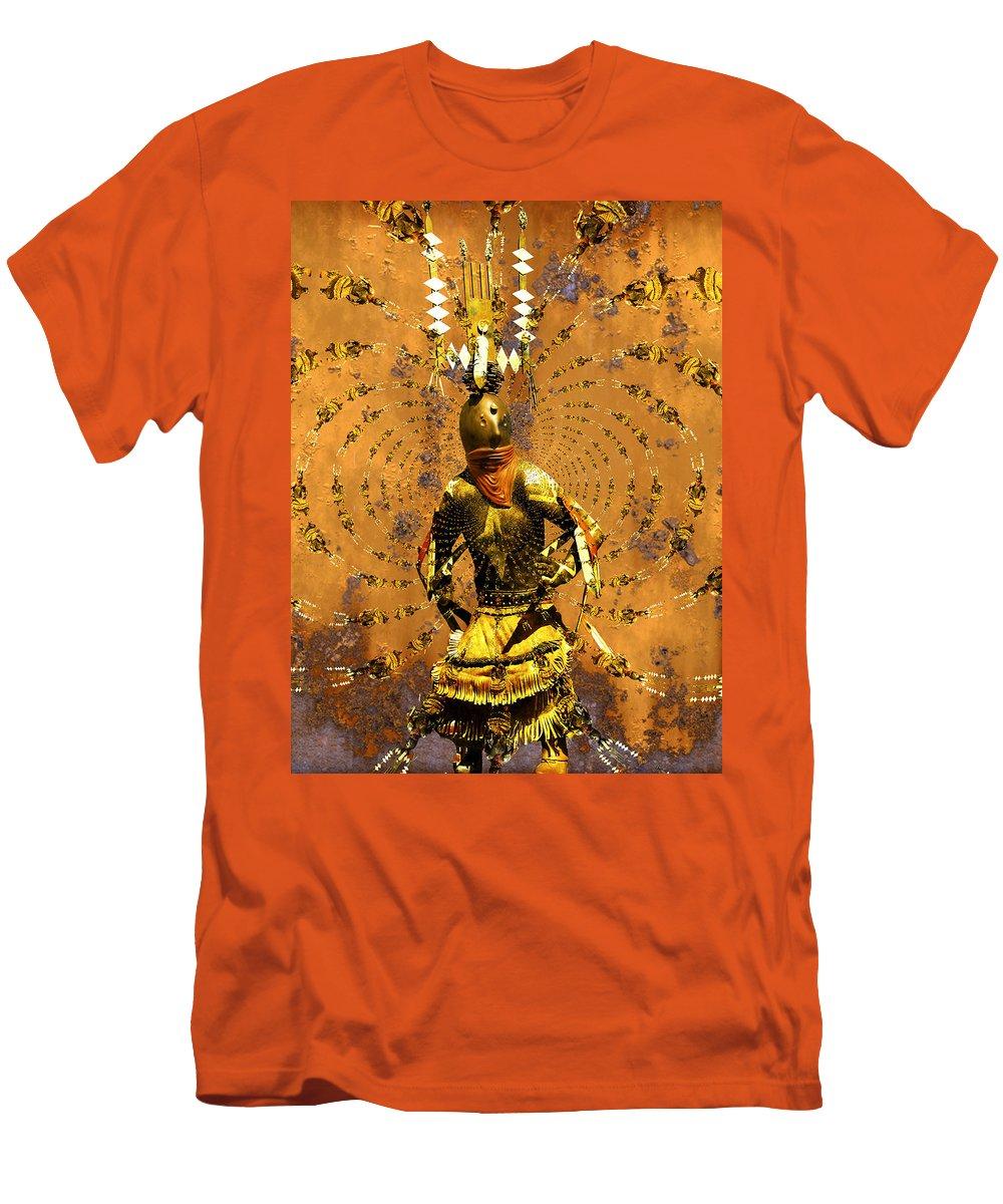 Kachina Men's T-Shirt (Athletic Fit) featuring the photograph Spirit Dance by Kurt Van Wagner