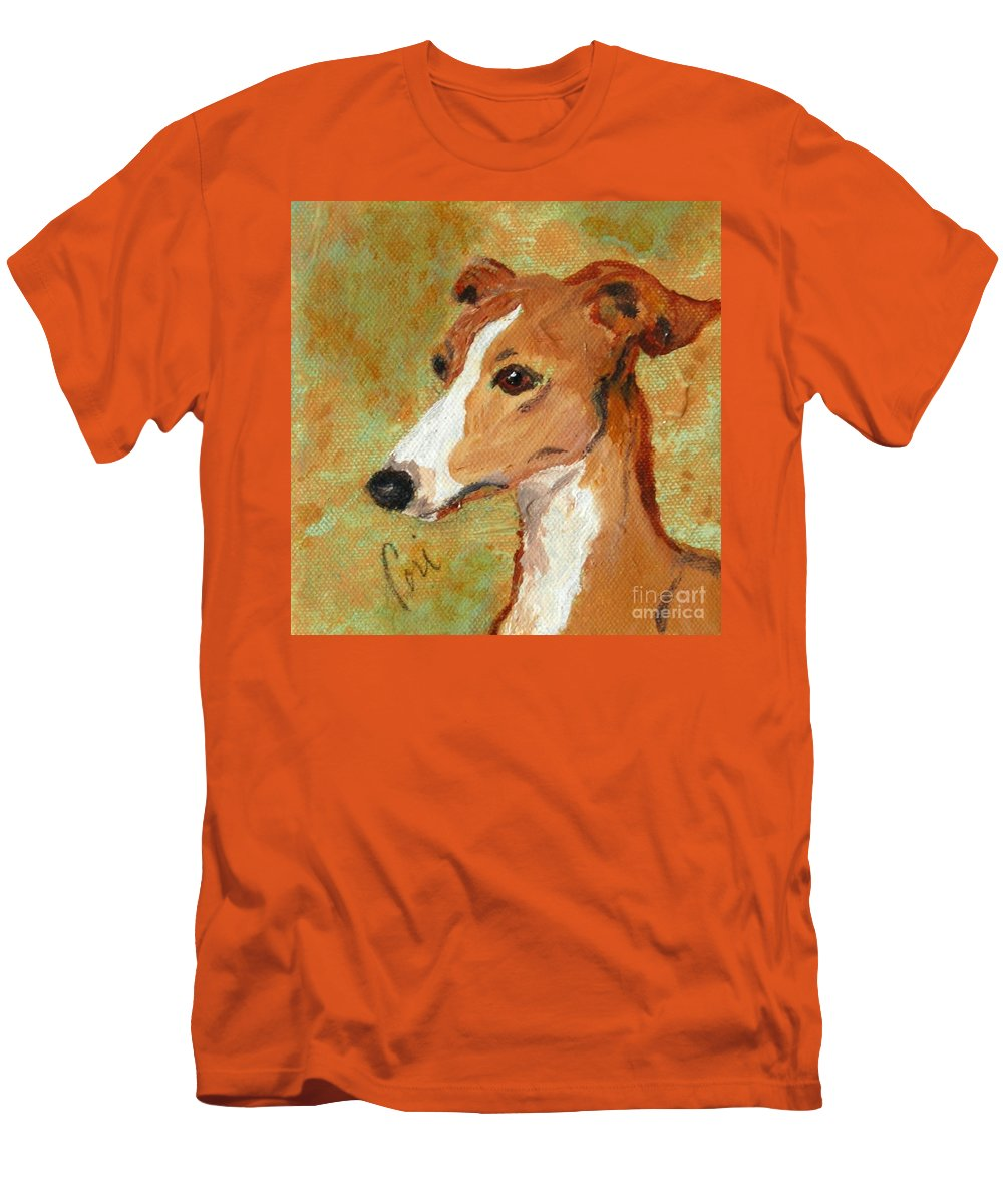 Acrylic Men's T-Shirt (Athletic Fit) featuring the painting Treasured Moments by Cori Solomon
