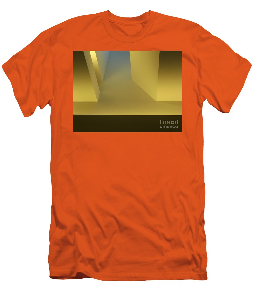 Yellow Men's T-Shirt (Athletic Fit) featuring the photograph Above Series 4.0 by Dana DiPasquale