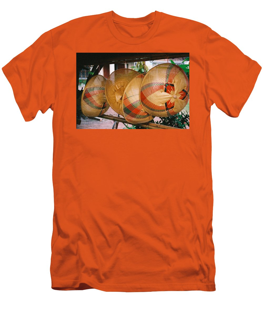 Baskets Men's T-Shirt (Athletic Fit) featuring the photograph Baskets by Mary Rogers