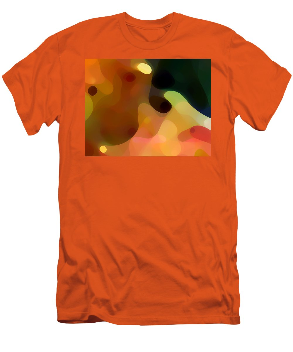 Bold Men's T-Shirt (Athletic Fit) featuring the painting Cactus Fruit by Amy Vangsgard