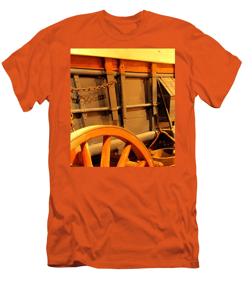 Conestoga Men's T-Shirt (Athletic Fit) featuring the photograph Conestoga by Ian MacDonald