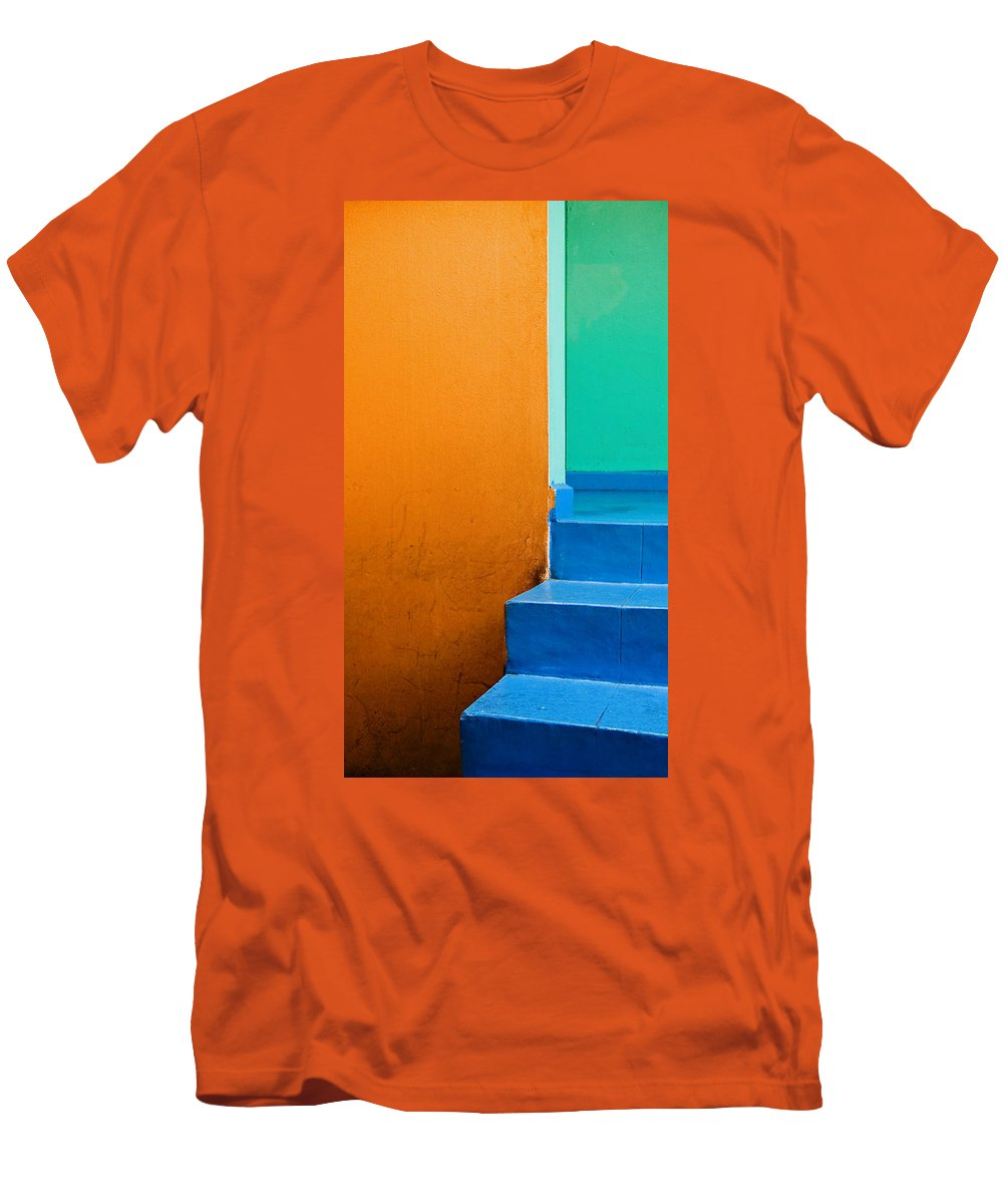 Oaxaca Men's T-Shirt (Athletic Fit) featuring the photograph Creamsicle by Skip Hunt