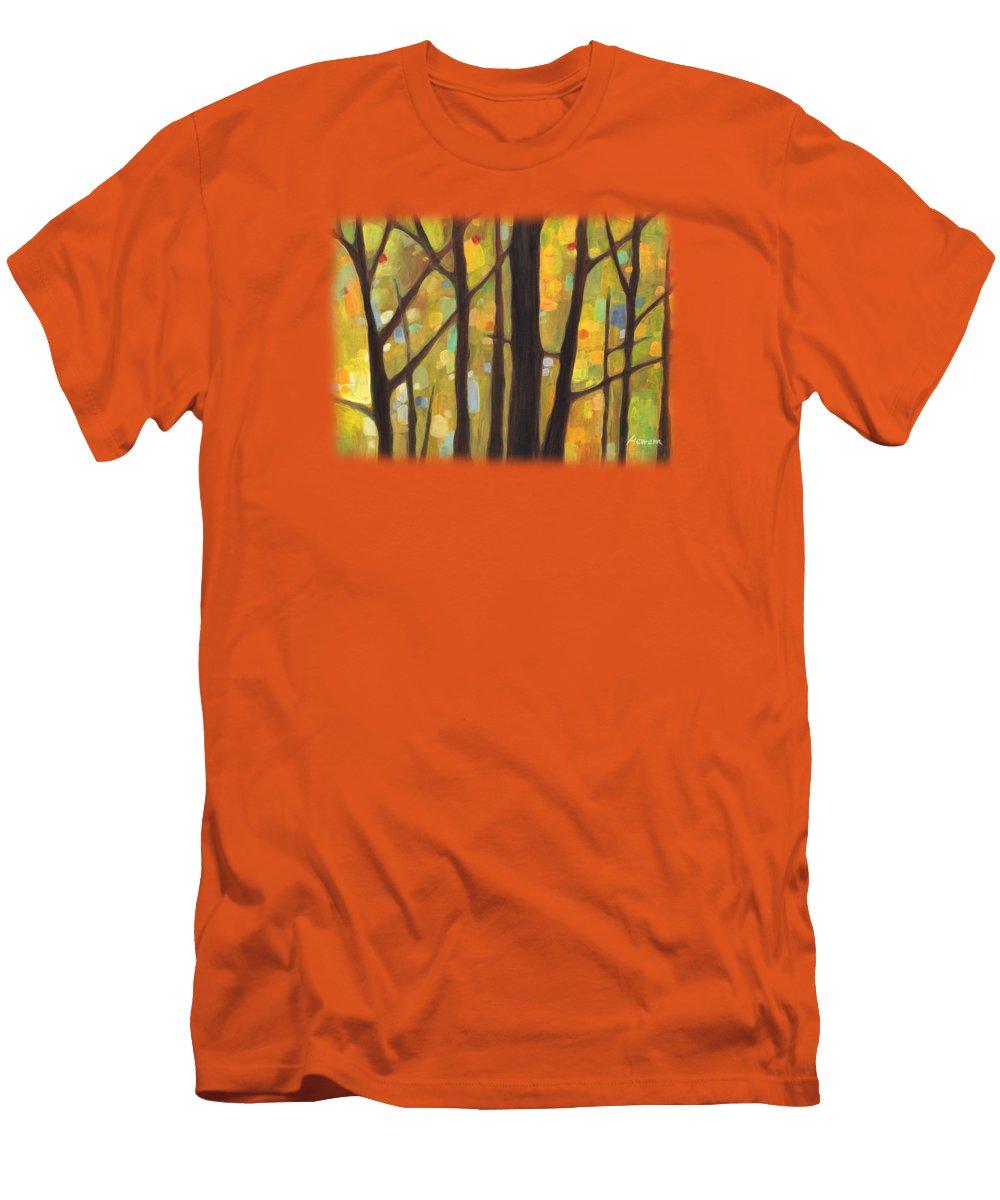 Autumn Art Slim Fit T-Shirts