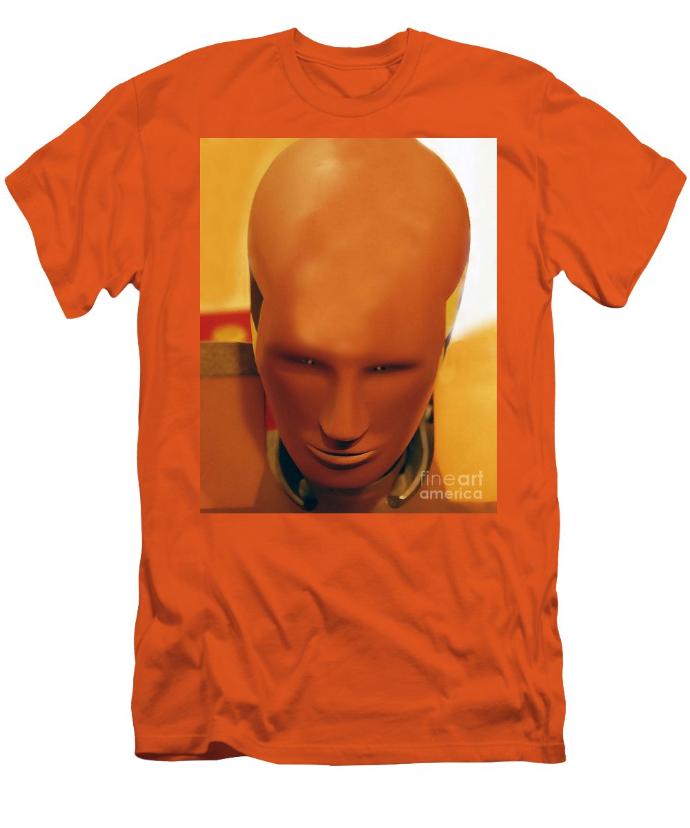 Future Men's T-Shirt (Athletic Fit) featuring the photograph Future Man by David Lee Thompson