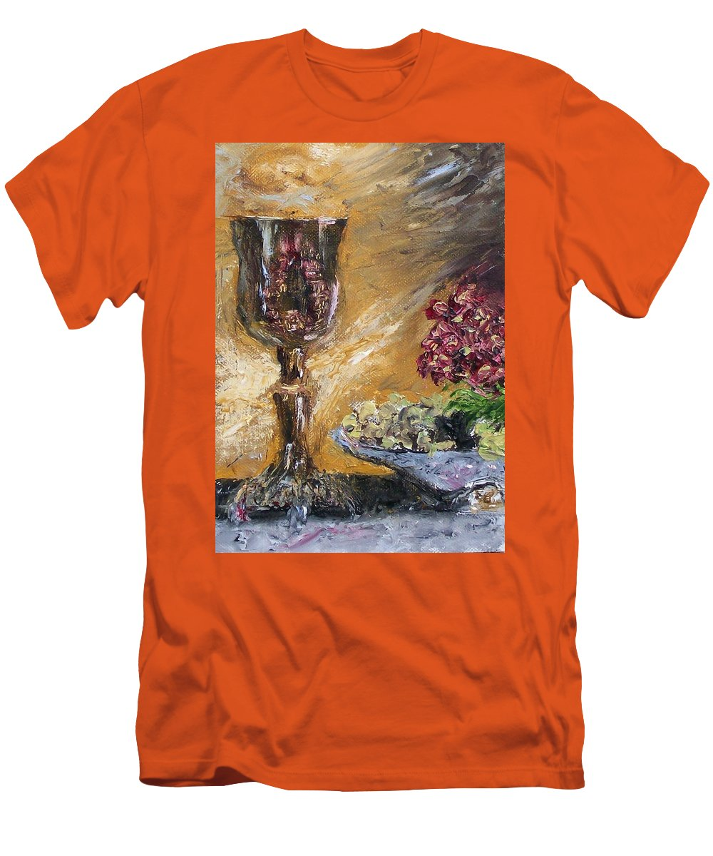 Men's T-Shirt (Athletic Fit) featuring the painting Goblet by Stephen King