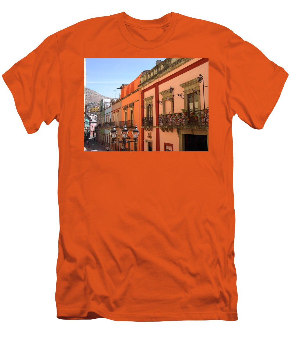 Charity Men's T-Shirt (Athletic Fit) featuring the photograph Guanajuato by Mary-Lee Sanders