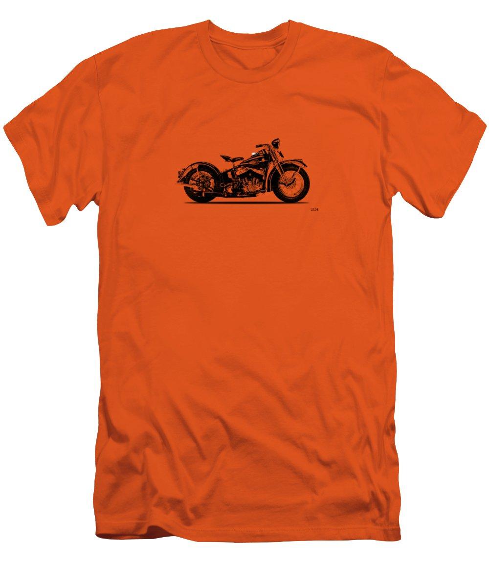 Harley Davidson Ulh Men's T-Shirt (Athletic Fit) featuring the photograph Harley Davidson Ulh 1941 by Mark Rogan