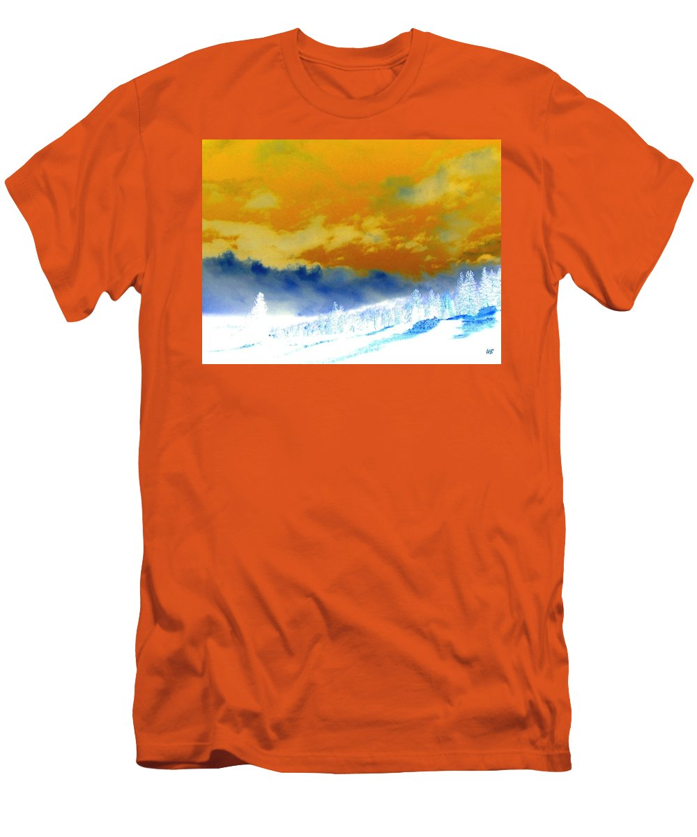 Impressions Men's T-Shirt (Athletic Fit) featuring the digital art Impressions 2 by Will Borden
