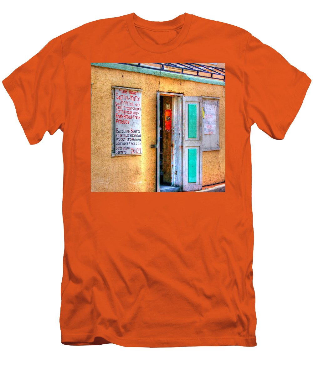 Store Men's T-Shirt (Athletic Fit) featuring the photograph Local Store by Debbi Granruth