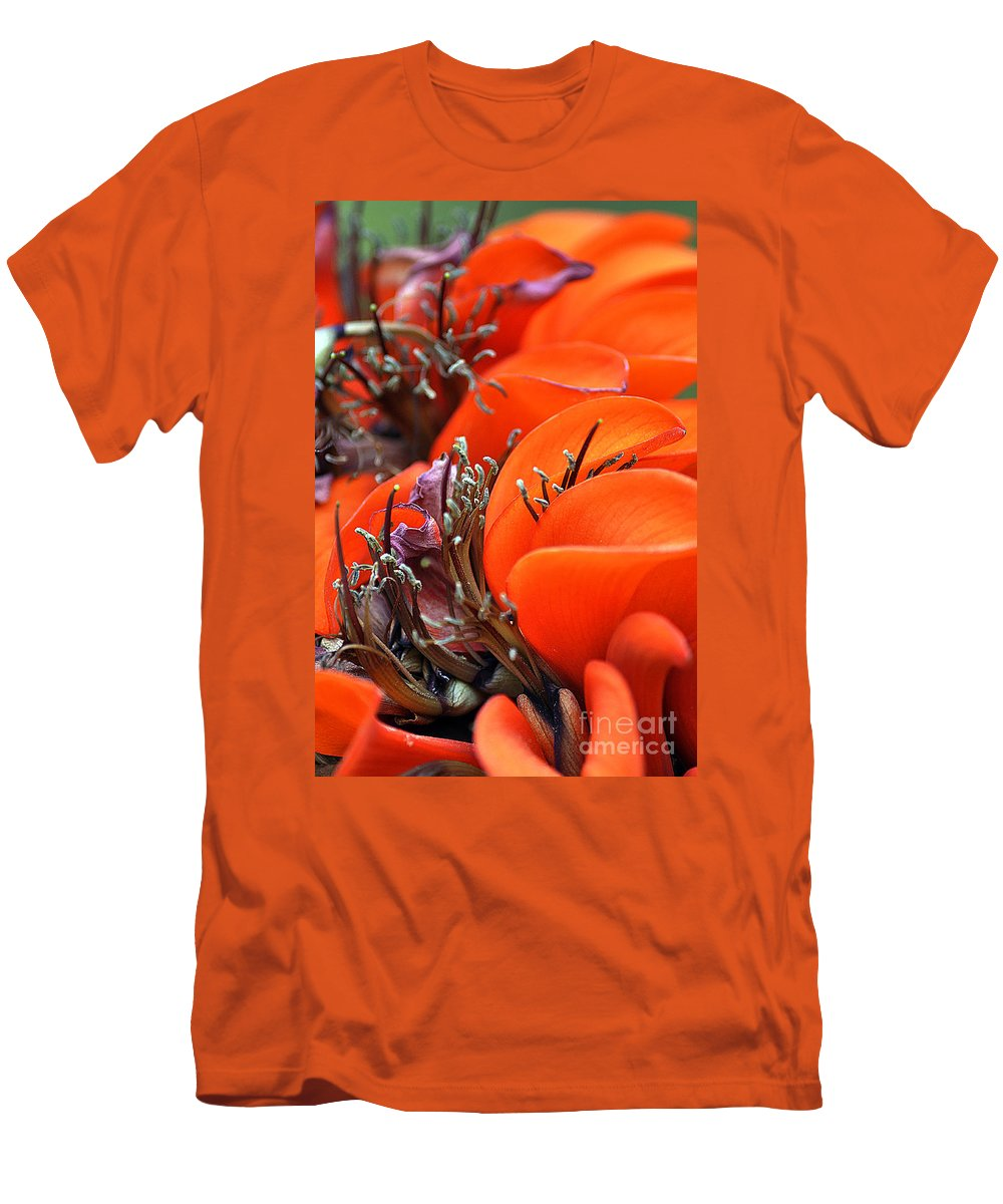 Clay Men's T-Shirt (Athletic Fit) featuring the photograph Orange by Clayton Bruster