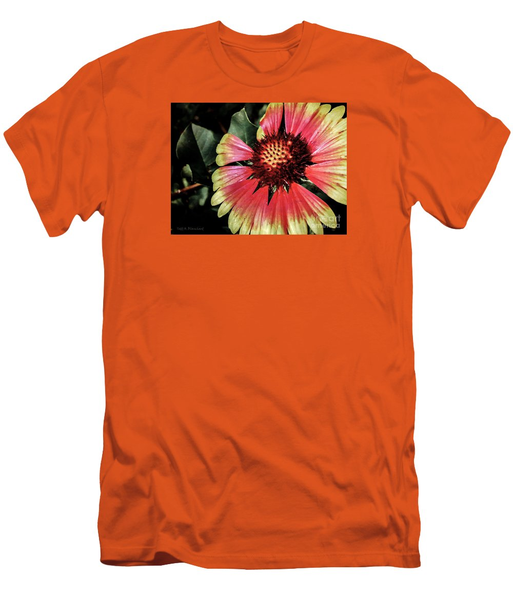 Flora Men's T-Shirt (Athletic Fit) featuring the photograph Soaking Up The Sun by Todd A Blanchard