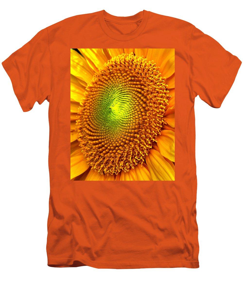 Sun Men's T-Shirt (Athletic Fit) featuring the photograph Sun Burst by Ian MacDonald