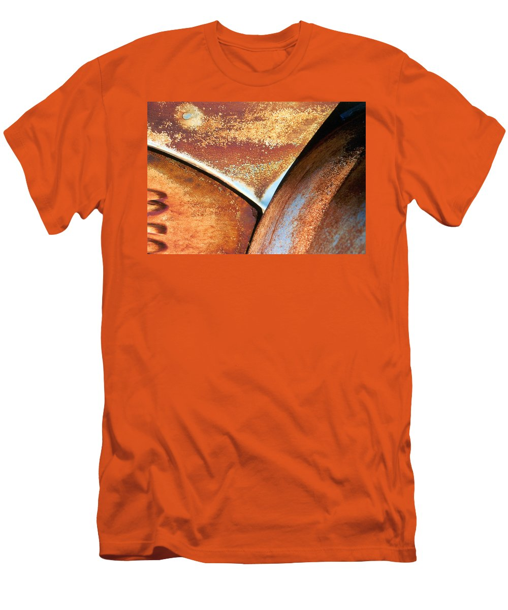 Abstract Men's T-Shirt (Athletic Fit) featuring the photograph The Feminine Mystique by Steve Karol