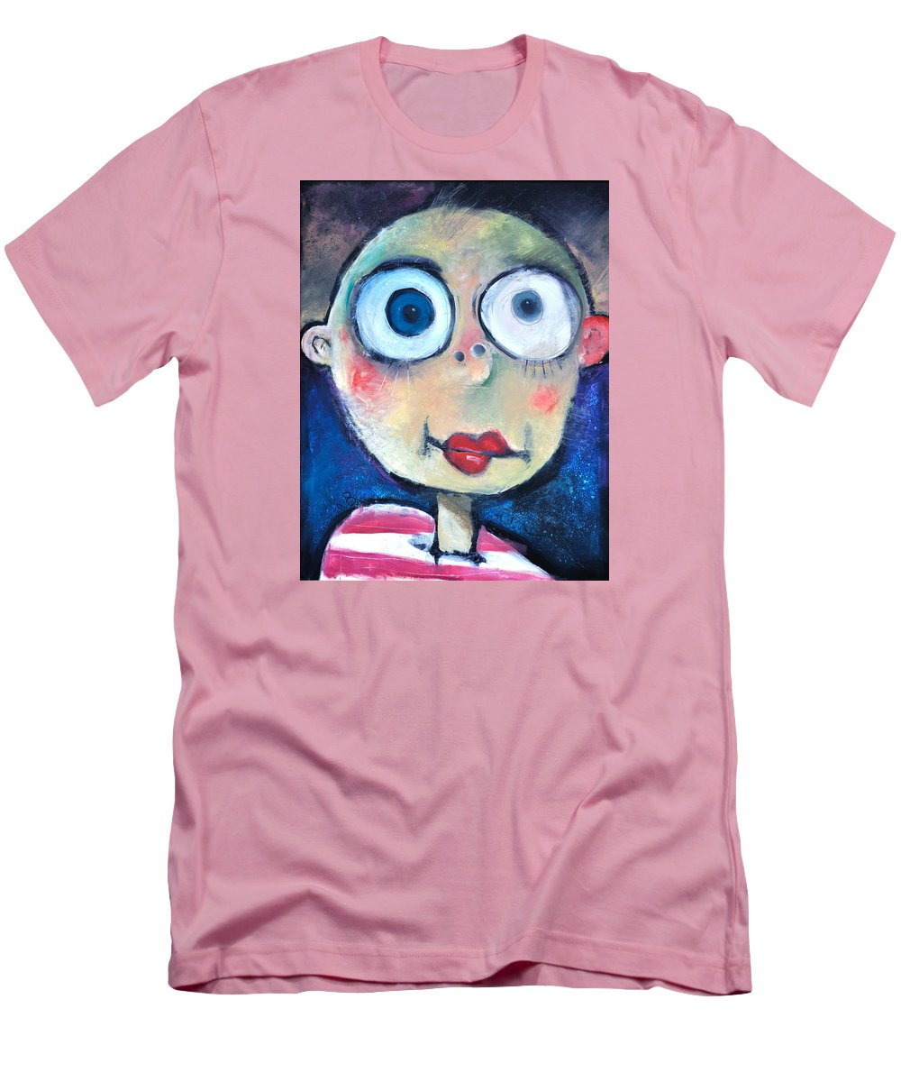 Child Men's T-Shirt (Athletic Fit) featuring the painting As A Child by Tim Nyberg