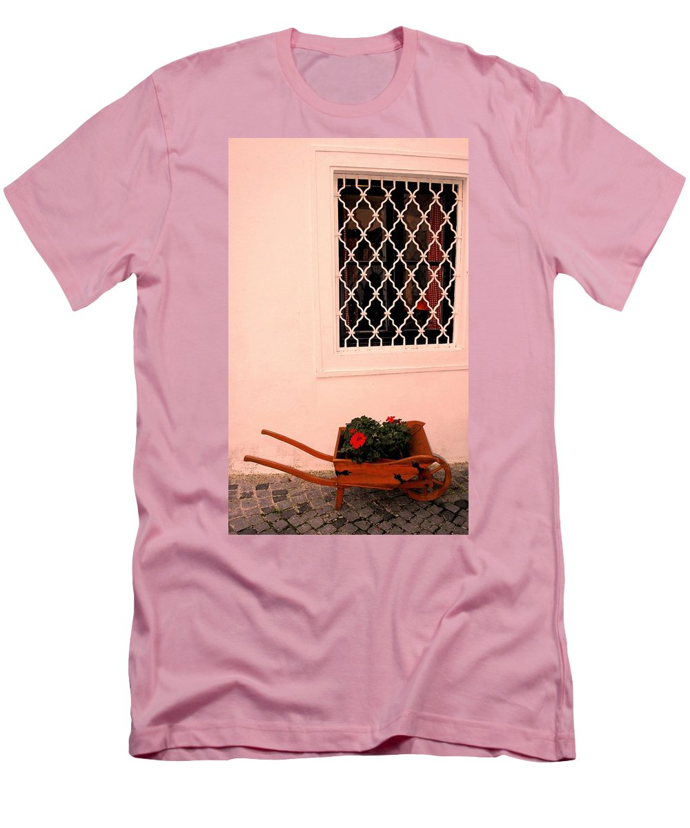 Vienna Men's T-Shirt (Athletic Fit) featuring the photograph At The Winery by Ian MacDonald