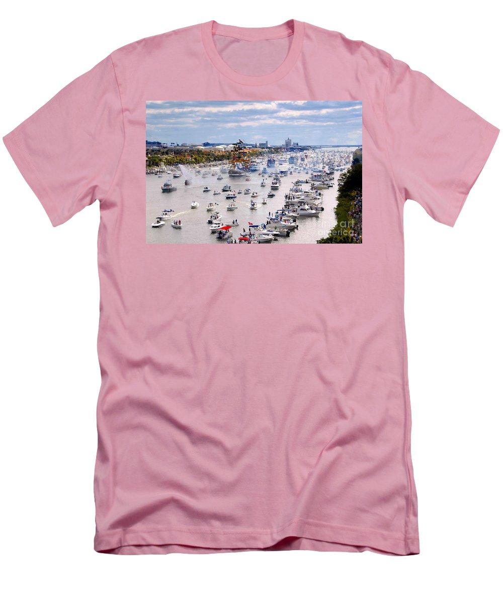Jose Gasparilla Men's T-Shirt (Athletic Fit) featuring the photograph Gaspar by David Lee Thompson