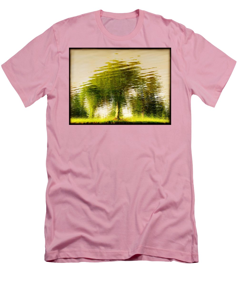 Abstract Men's T-Shirt (Athletic Fit) featuring the photograph Gentle Sun by Dana DiPasquale