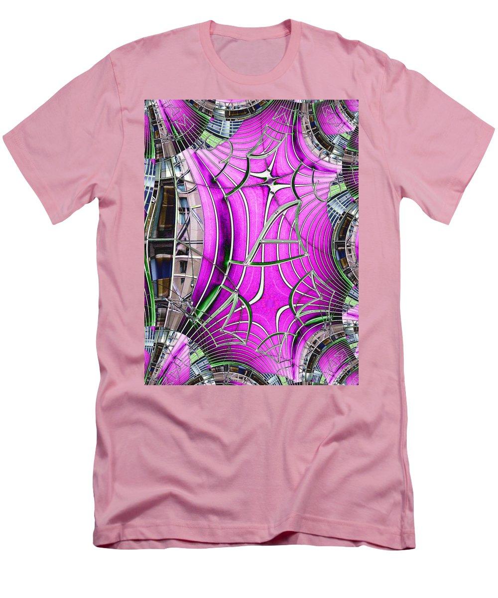 Seattle Men's T-Shirt (Athletic Fit) featuring the digital art Seattle Art Museum by Tim Allen