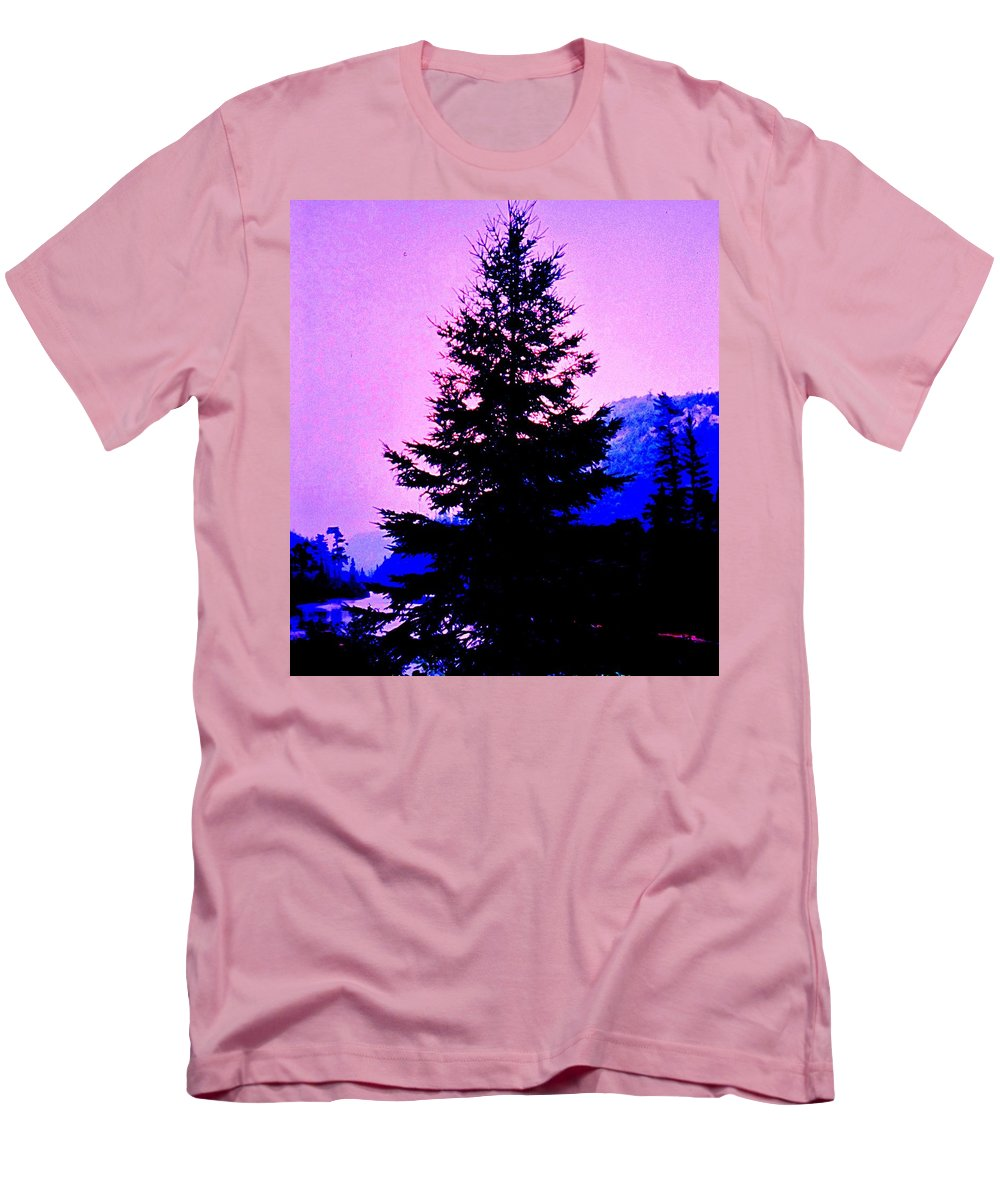 Agawa Men's T-Shirt (Athletic Fit) featuring the photograph Shadows In The Canyon by Ian MacDonald