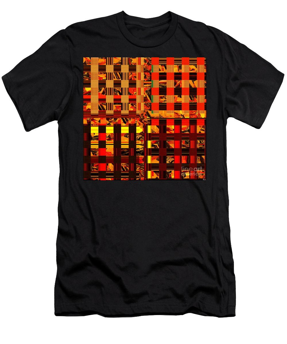 Abstract Men's T-Shirt (Athletic Fit) featuring the digital art 0409 Abstract Thought by Chowdary V Arikatla