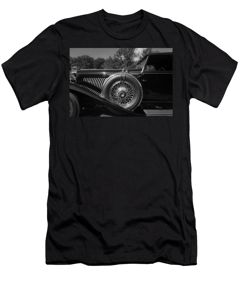 Antique Men's T-Shirt (Athletic Fit) featuring the photograph 1929 Duesenberg Model J Covertible Coupe By Murphy by Jack R Perry