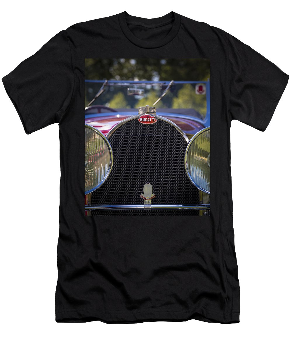American Men's T-Shirt (Athletic Fit) featuring the photograph 1930 Bugatti Type 50 Drop Head Coup by Jack R Perry