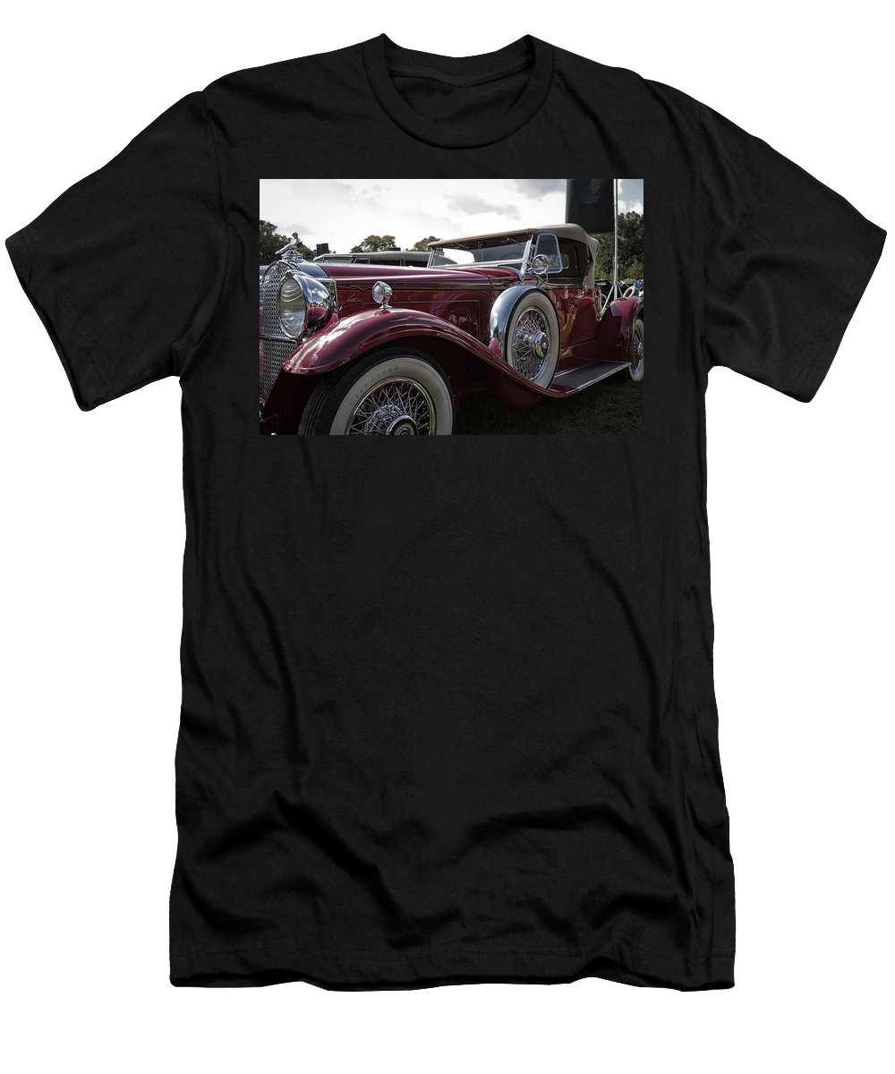 Antique Men's T-Shirt (Athletic Fit) featuring the photograph 1930 Packard Model 734 Speedster Runabout by Jack R Perry