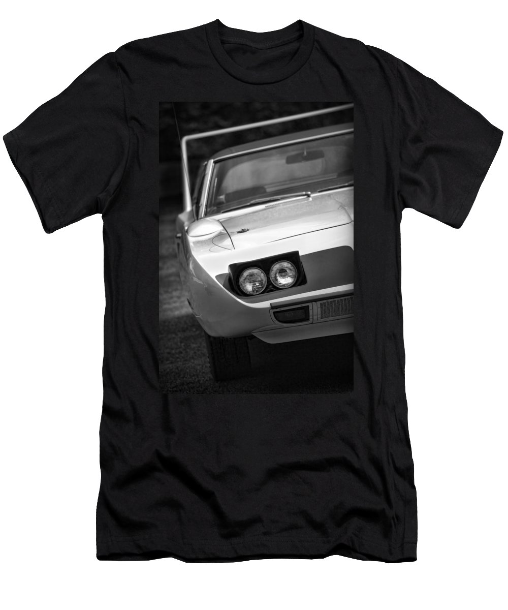 1970 Men's T-Shirt (Athletic Fit) featuring the photograph 1970 Plymouth Road Runner Superbird by Gordon Dean II