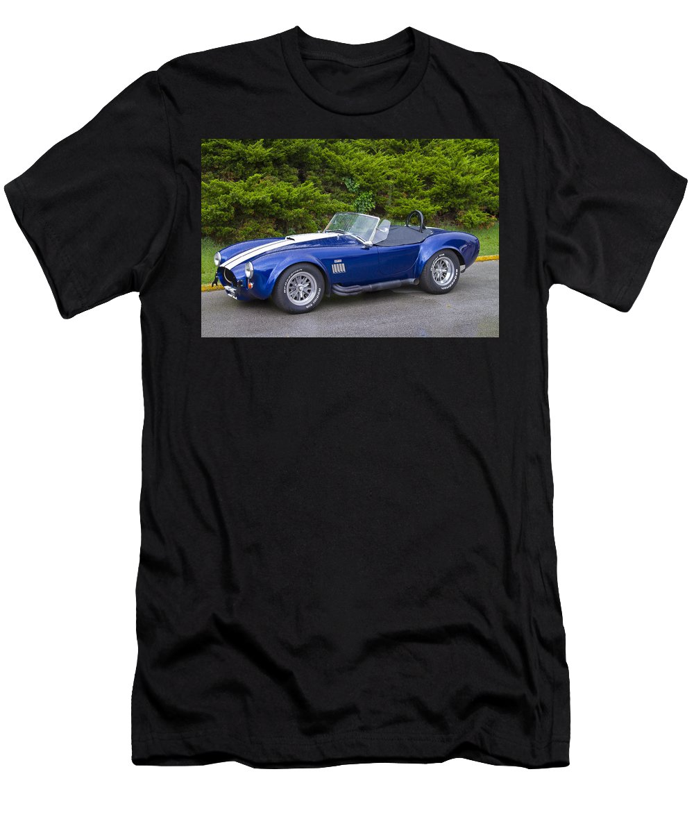 American Men's T-Shirt (Athletic Fit) featuring the photograph 427 Cobra by Jack R Perry
