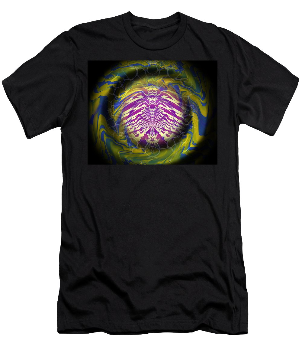 Original Men's T-Shirt (Athletic Fit) featuring the painting Abstract 141 by J D Owen