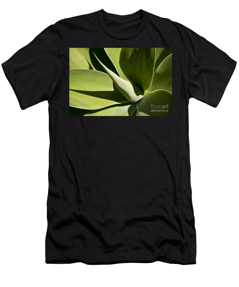 Agave Men's T-Shirt (Athletic Fit) featuring the photograph Agave by Lana Enderle