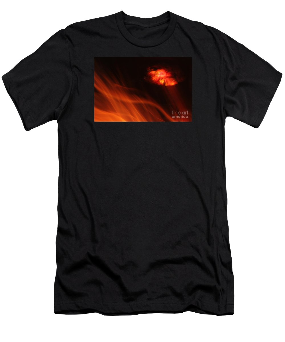 Africa Men's T-Shirt (Athletic Fit) featuring the photograph Boma by PJ Boylan