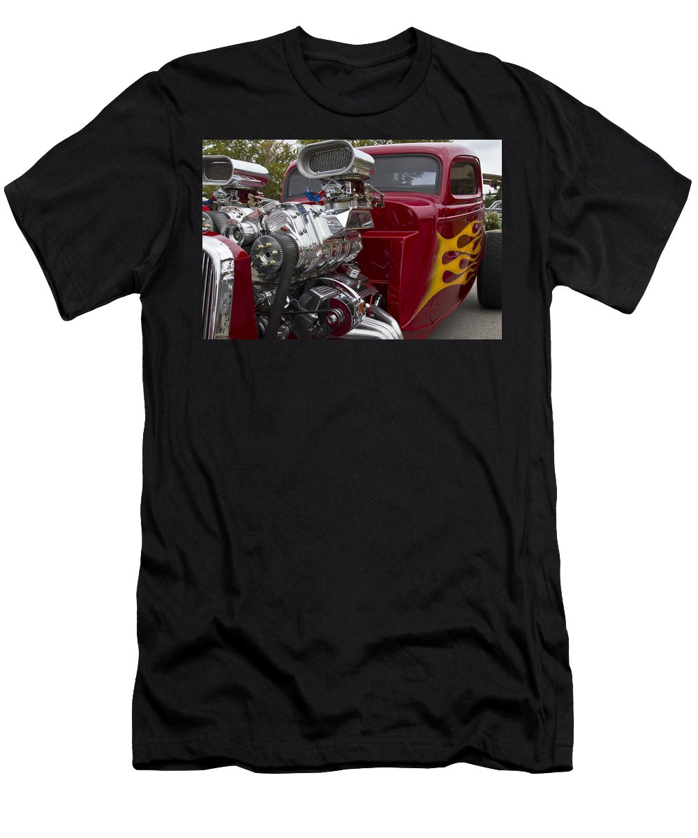 American Men's T-Shirt (Athletic Fit) featuring the photograph Catch Me If You Can by Jack R Perry